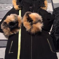 Куртка трансформер с зимней подкладкой кролика,
