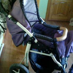 Stroller 3 in 1 carino