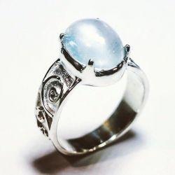 Gümüş Aytaşı Yüzük