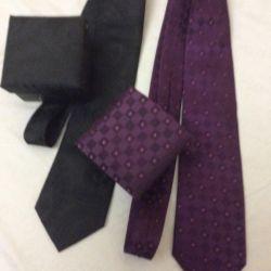 Legături noi și purpuriu în negru