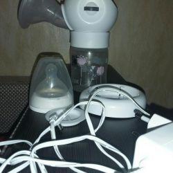 Pompa electrica pentru san