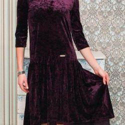 New dress (velvet)