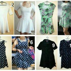 Dresses used