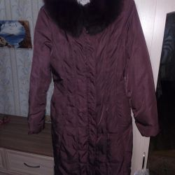 I will sell a down-padded coat winter!