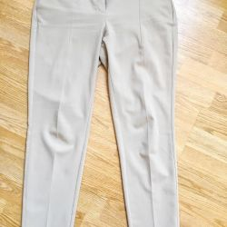 New Fashionable Mango XS / S Trousers 100% Cotton