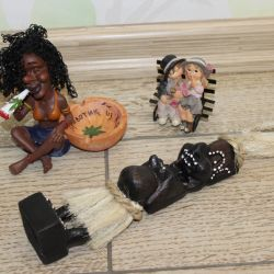 Абориген Примитив, пепельница и влюбленная парочка