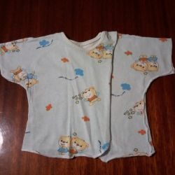 Μπλουζάκια μωρών σε μωρά!