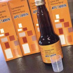 Apetamin Syrup and pills