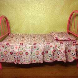 New Baby Born Doll Bed