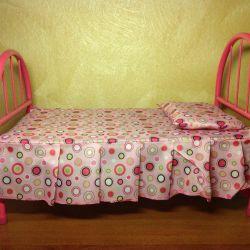 Yeni Bebek Doğmuş Bebek Yatağı