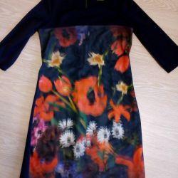 3D dress, 3/4 sleeve, on the figure