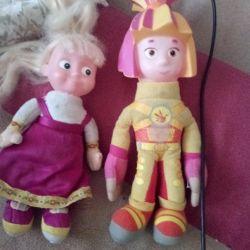 Игрушки Симка и Маша
