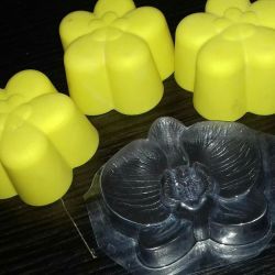 Beautiful forms for soap making
