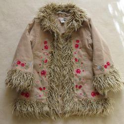 Demi-season coat N & M for a little fashionista