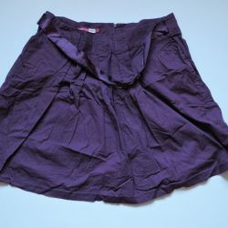 EMOTION LADY skirt with satin belt