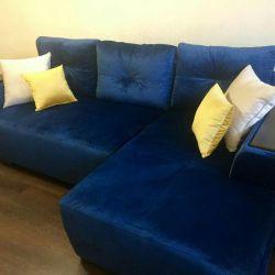 Γωνιακός καναπές Pallermo