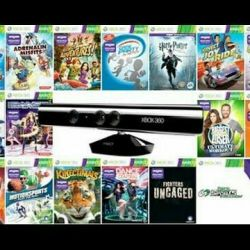 Games on the stitched hook 360 Lt 3.0 kinect