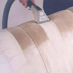 Cleaning upholstered furniture and carpets at home
