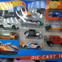 Set of cars Hot Wheels series