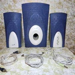 Speakers Genius SW-K106 (2x3W + Subwoofer 10W)