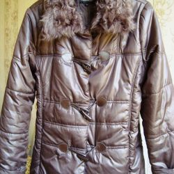 Jacket n 46 synthetic winterizer Nature. fur Germany New