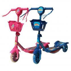 Çocuk üç tekerlekli scooter, 2 renk