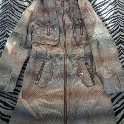 Куртка плащ  на девочку новая