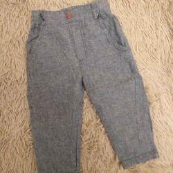 Много штанишек для мальчишки