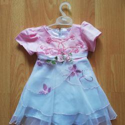 Rochie pentru prințesă, 5-9 luni.