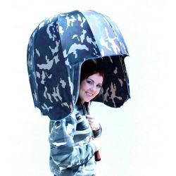 Umbrella Armacy Helmet Walking Stick