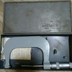 Selling micrometer 75-100 new in 1985.