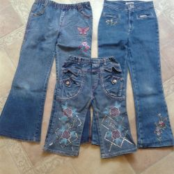 capri pants and jeans for girls