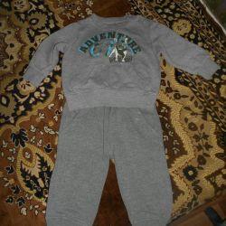 Fleece suit for boy