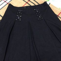 Warm skirt on the lining