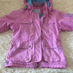 Bir kız için bir ceket.