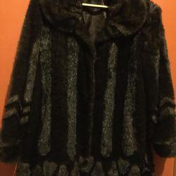 Fur coat, sheepskin coat