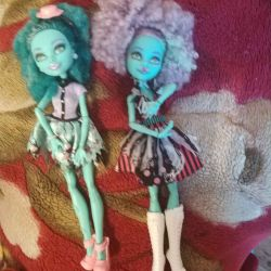 Hani monster high.