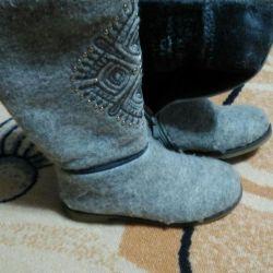 Keçe çizmeler boyutu 35