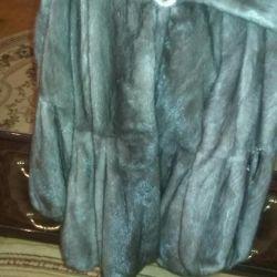 Mink coat, Italy