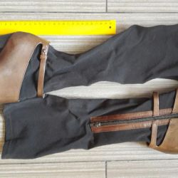 Сапоги- чулки IXOS коричневые 36-37 размер