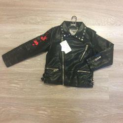 Leather jacket new