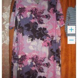 Φωτεινό φόρεμα νέο μέγεθος 58-60