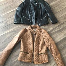 Куртка еко шкіра