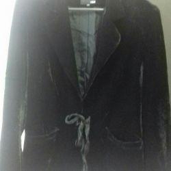 Women's velvet jacket 46-48