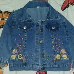 Продам в отличном состоянии джинсовую курточку