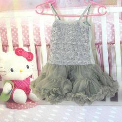 Νέο φόρεμα sarafan με πλήρη φούστα