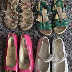 Παπούτσια Ιταλία δέρμα 31 r