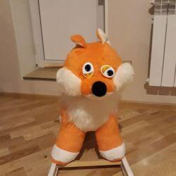 Качалка лисичка