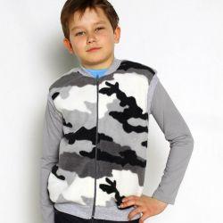 New fleece vest protective color 158 height