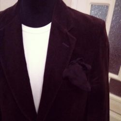 Velvet jacket. England